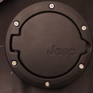Other - Keep wrangler gas cover